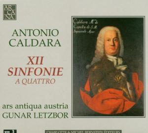 12 Sinfonie A Quattro als CD