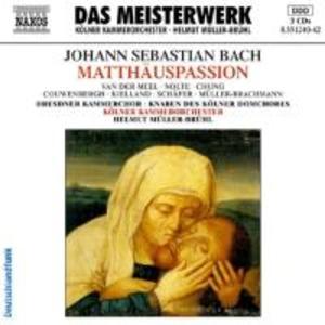 Matthäus-Passion (GA) als CD