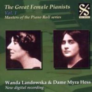 Great Female Pianists Vol.1 als CD