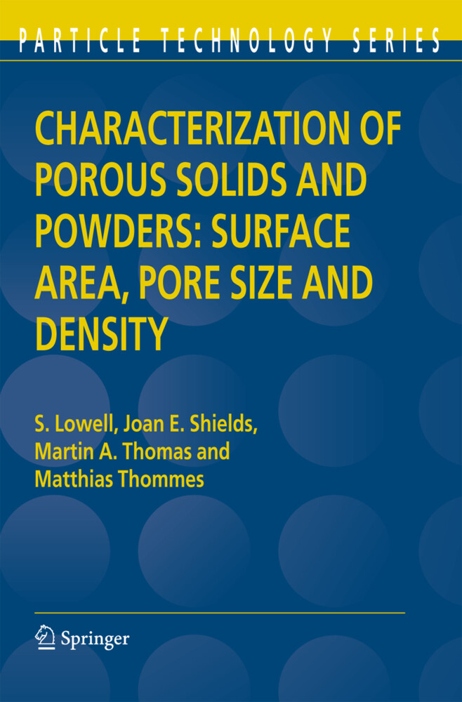 Characterization of Porous Solids and Powders: Surface Area, Pore Size and Density als Buch