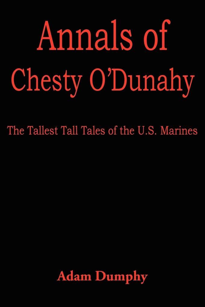 Annals of Chesty O'Dunahy als Taschenbuch