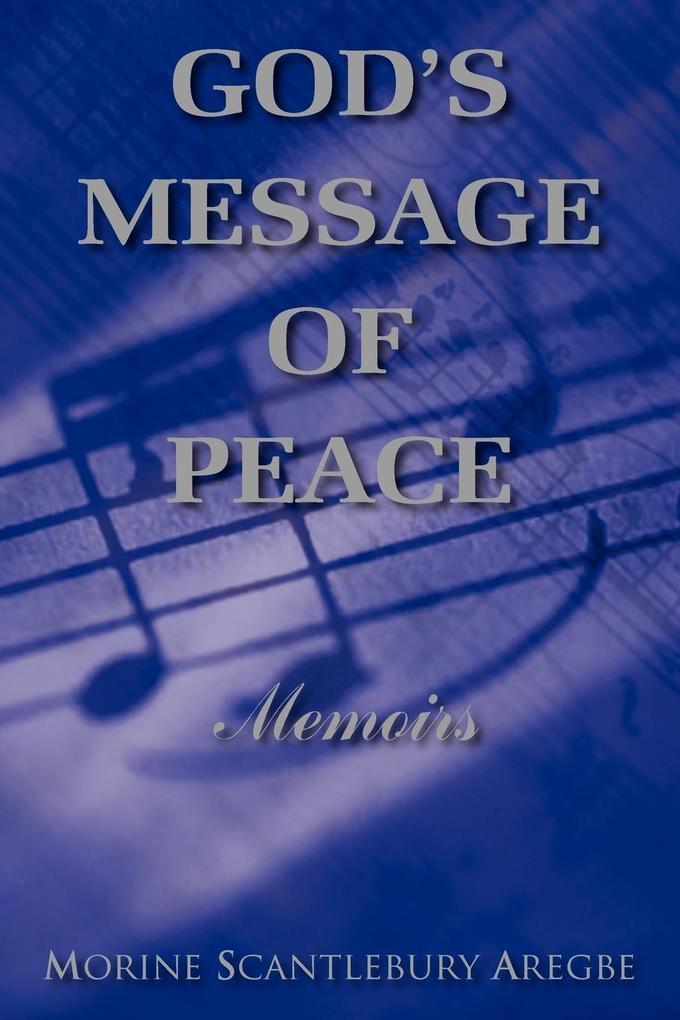 GOD'S MESSAGE OF PEACE als Taschenbuch