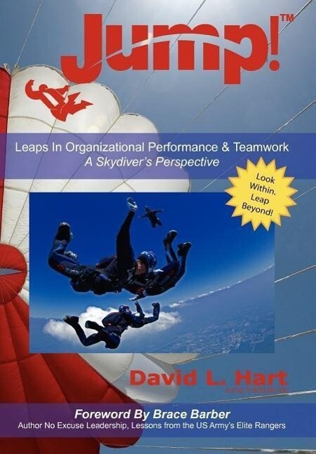 Jump!: Leaps in Organizational Performance & Teamwork a Skydiver's Perspective als Buch