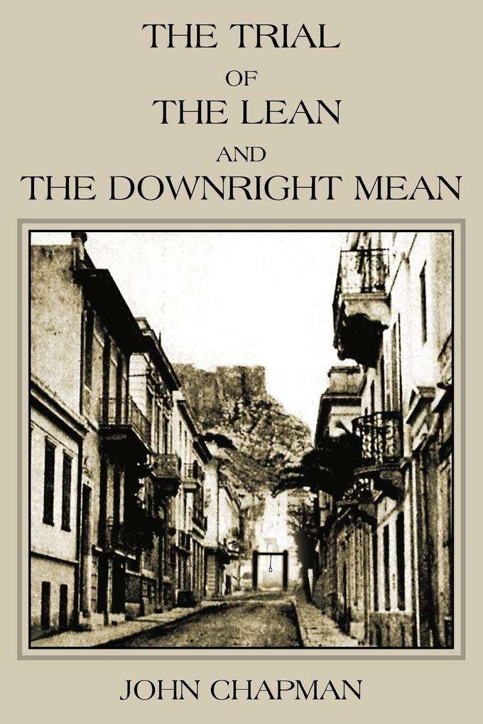 The Trial of the Lean and the Downright Mean als Taschenbuch