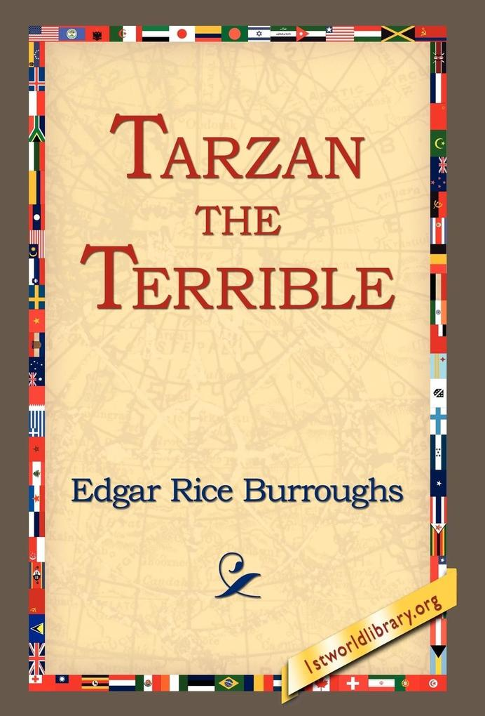 Tarzan the Terrible als Buch