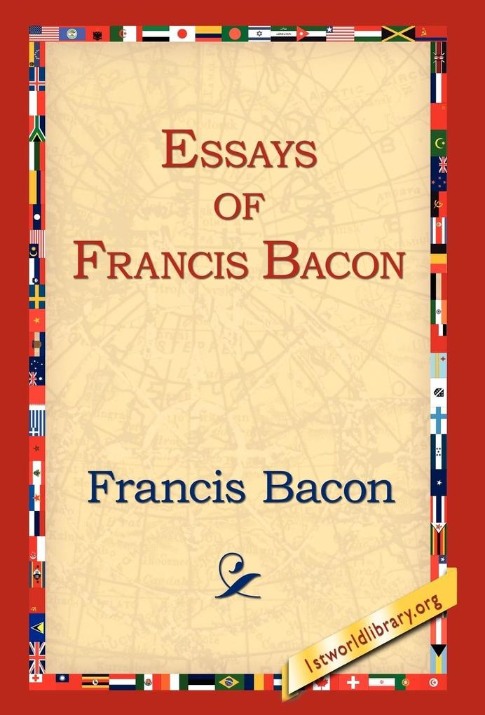 Essays of Francis Bacon als Buch