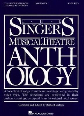 Singer's Musical Theatre Anthology - Volume 4: Soprano Book Only als Taschenbuch