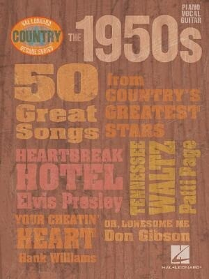 The 1950s: 50 Great Songs from Country's Greatest Stars als Taschenbuch
