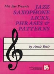 Jazz Saxophone Licks als Taschenbuch