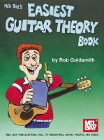 Mel Bay's Easiest Guitar Theory Book als Taschenbuch