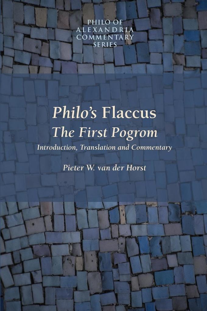 Philo's Flaccus als Taschenbuch