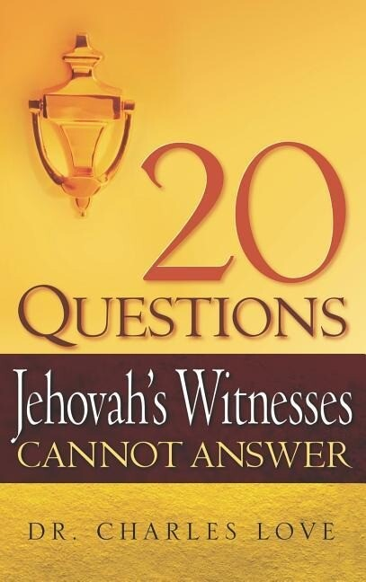 20 Questions Jehovah's Witnesses Cannot Answer als Buch