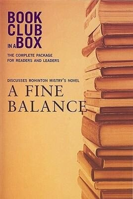Bookclub-In-A-Box Discusses a Fine Balance: A Novel by Rohinton Mistry [With Post-It Notes and Bookmark and Booklet] als Taschenbuch