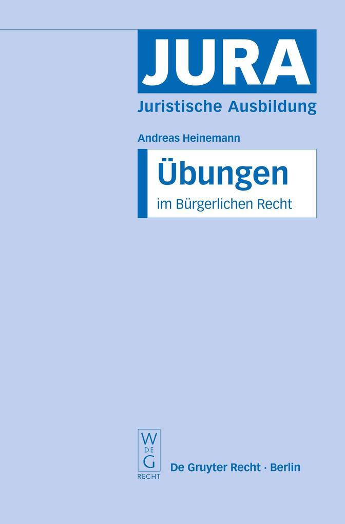 Übungen im Bürgerlichen Recht als Buch