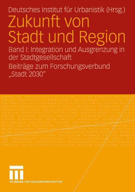 Zukunft von Stadt und Region 1 als Buch