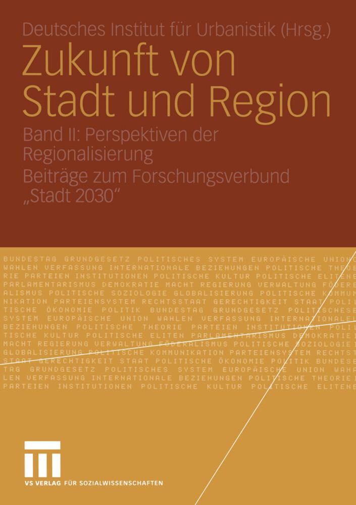 Zukunft von Stadt und Region als Buch