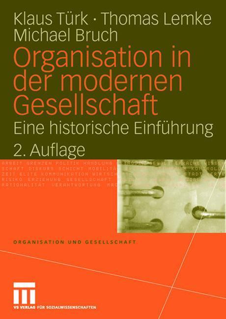 Organisation in der modernen Gesellschaft als Buch