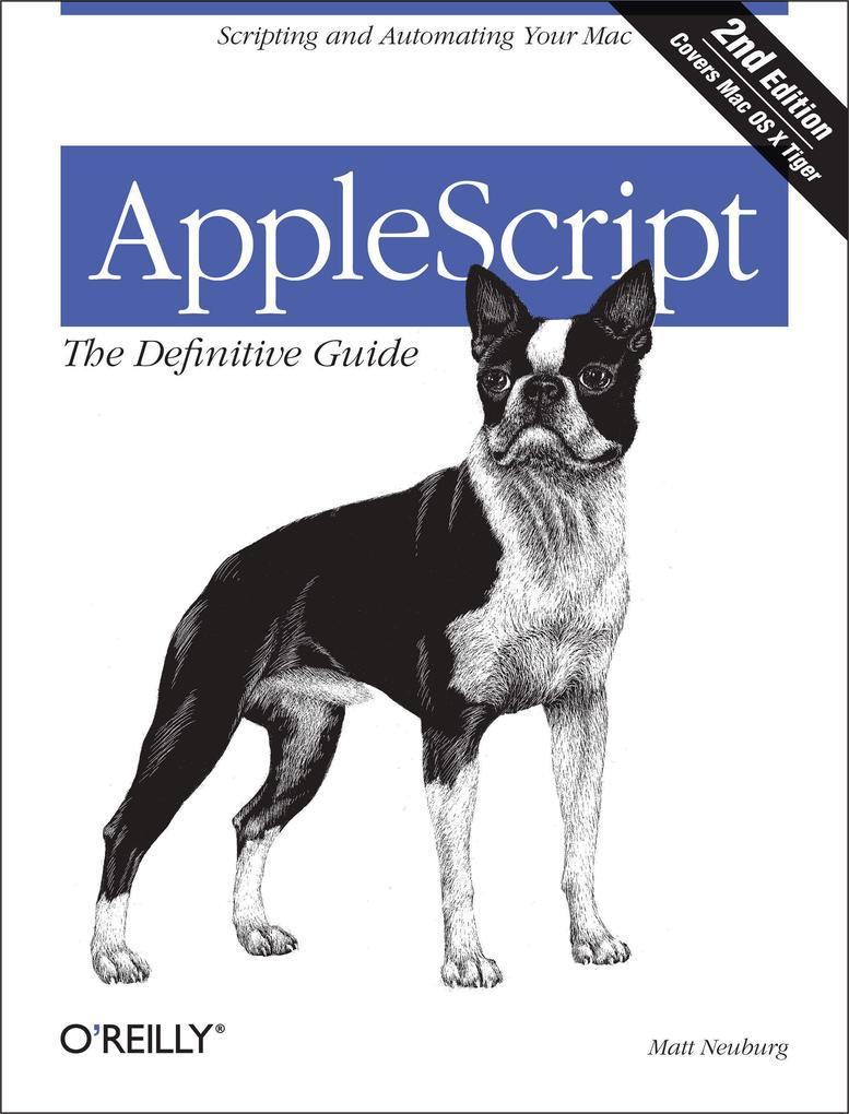 AppleScript: The Definitive Guide als Buch