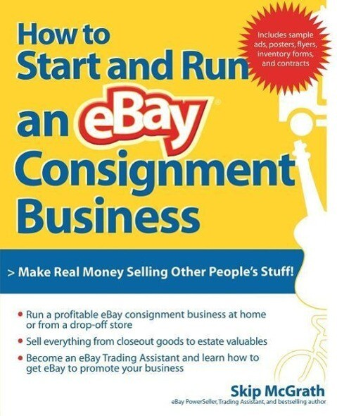 How to Start and Run an Ebay Consignment Business als Taschenbuch