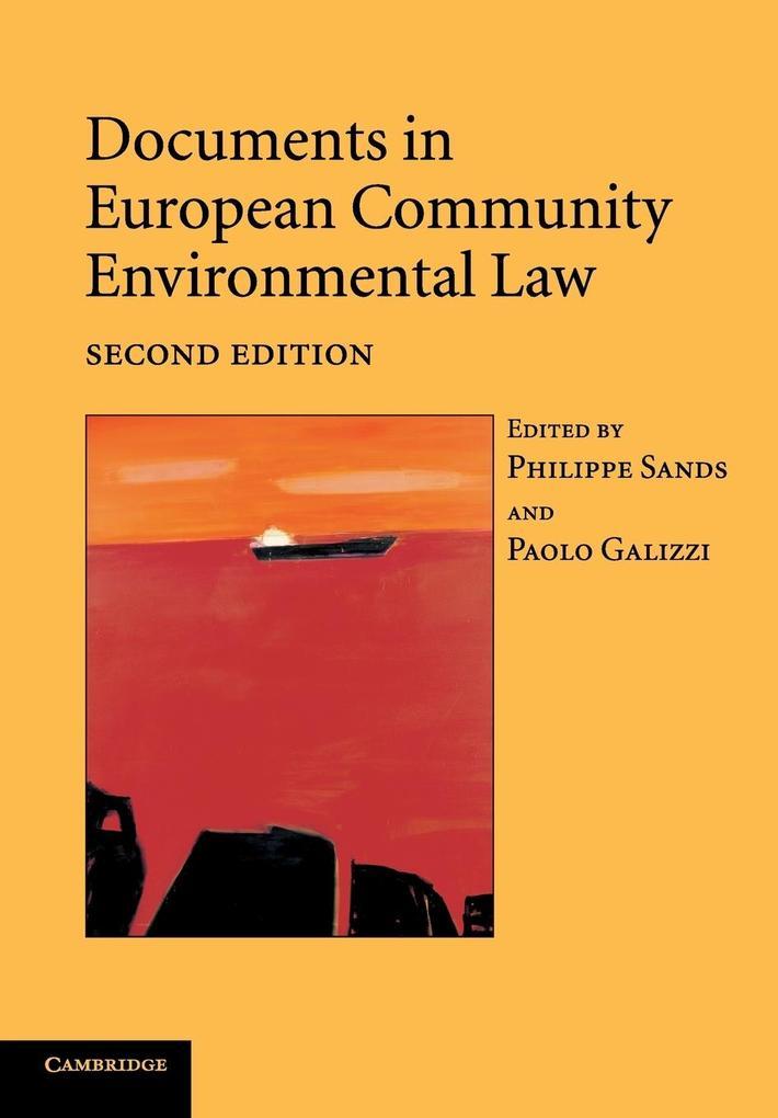 Documents in European Community Environmental Law als Taschenbuch