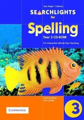 Searchlights for Spelling Year 3 CD-ROM: For Interactive Whole-Class Teaching als Hörbuch