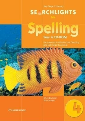 Searchlights for Spelling Year 4 CD-ROM: For Interactive Whole-Class Teaching als Hörbuch
