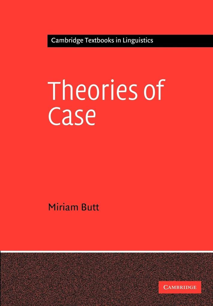 Theories of Case als Buch
