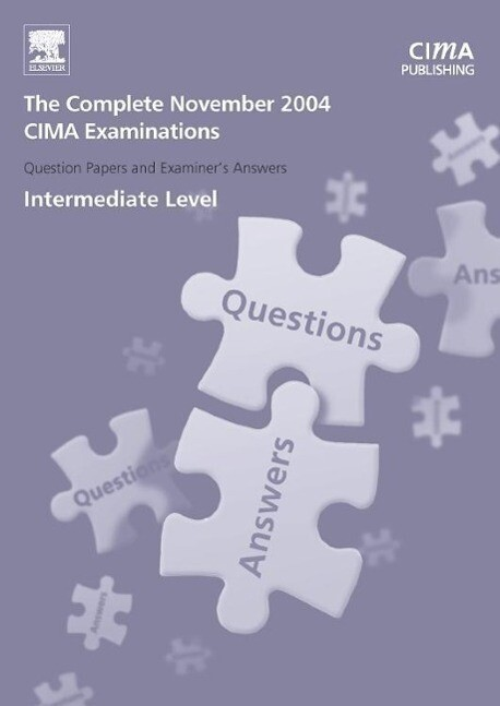 CIMA 2004 November Q and A's als Taschenbuch
