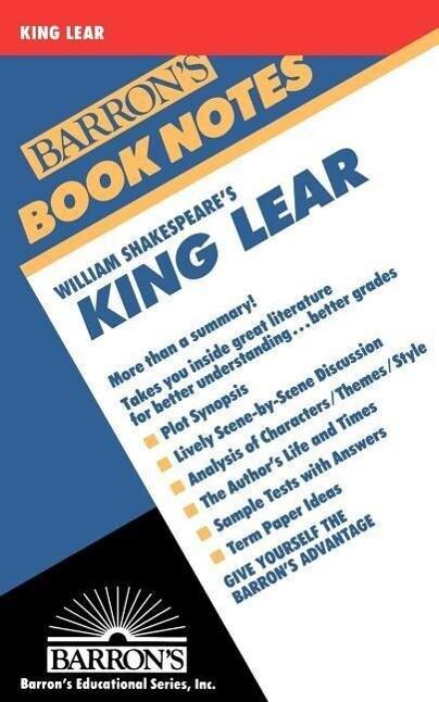 King Lear als Taschenbuch