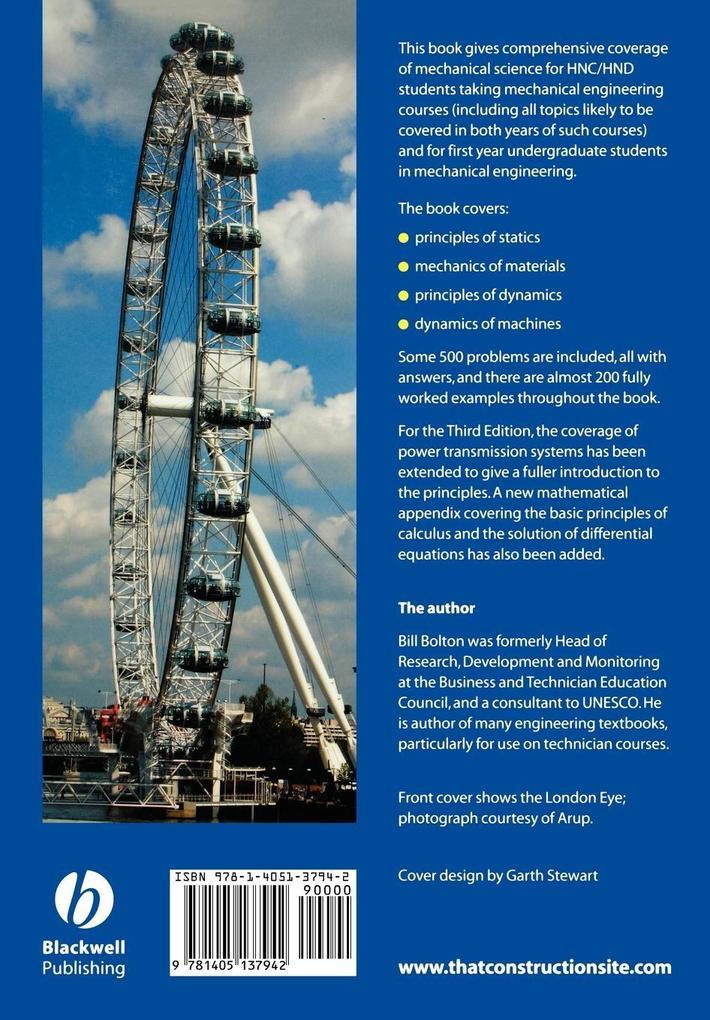 Mechanical Science 3e als Taschenbuch