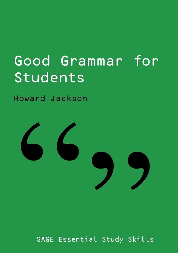 Good Grammar for Students als Taschenbuch