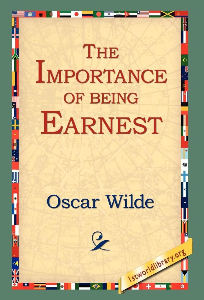 The Importance of Being Earnest als Buch