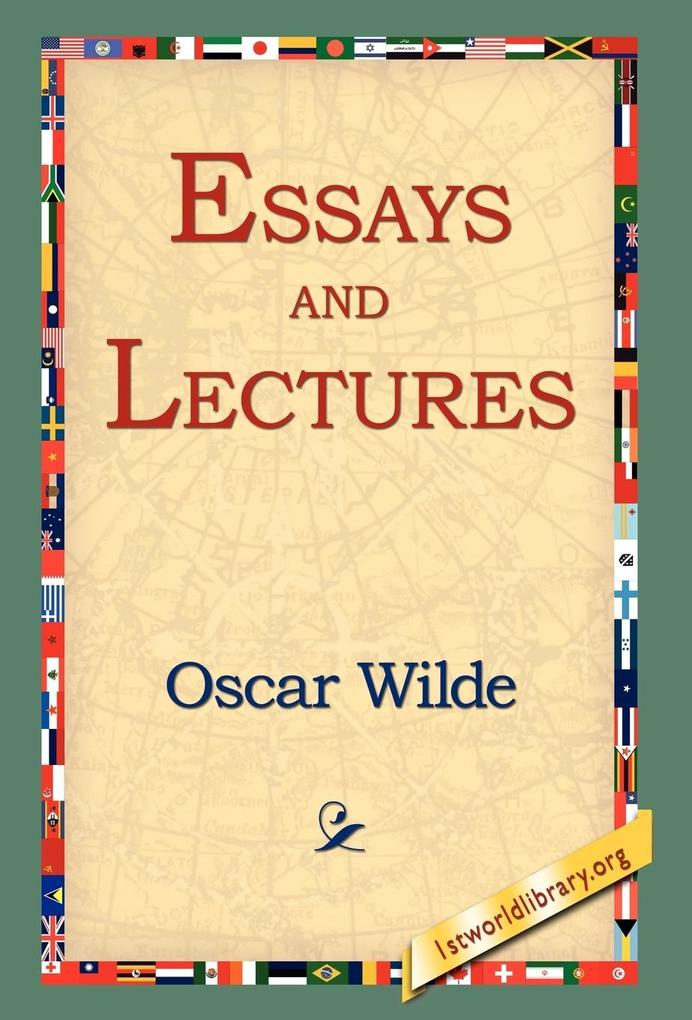 Essays and Lectures als Buch
