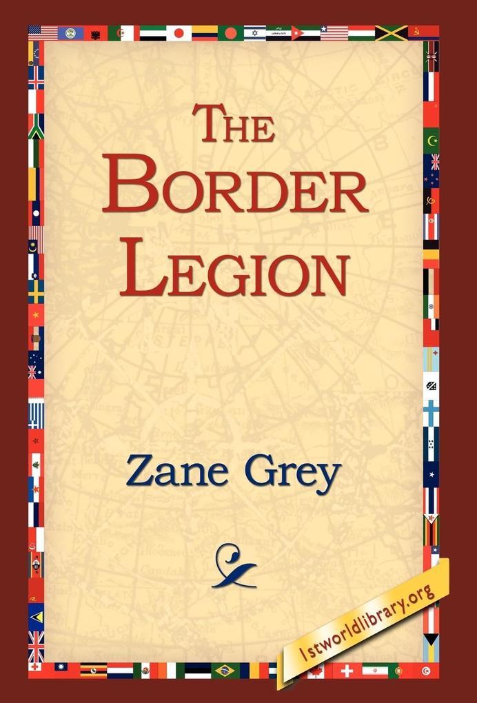 The Border Legion als Buch