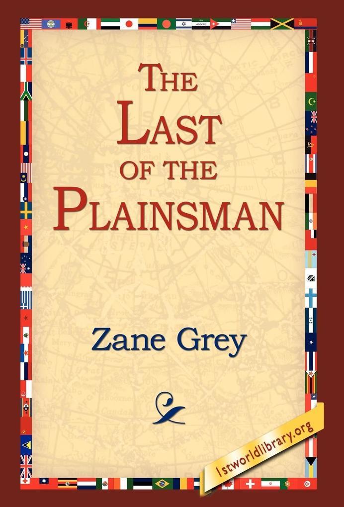 The Last of the Plainsman als Buch
