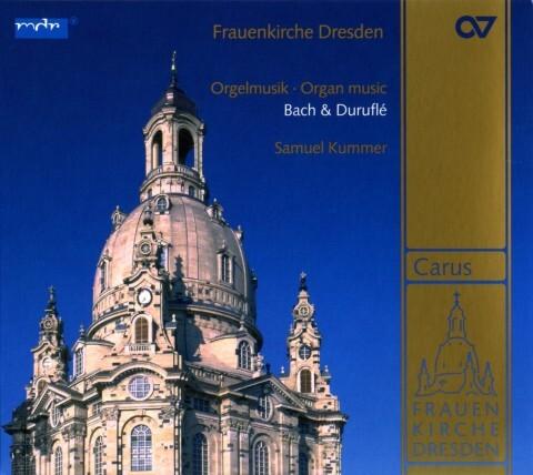 Frauenkirche Dresden-Orgelmusik als CD