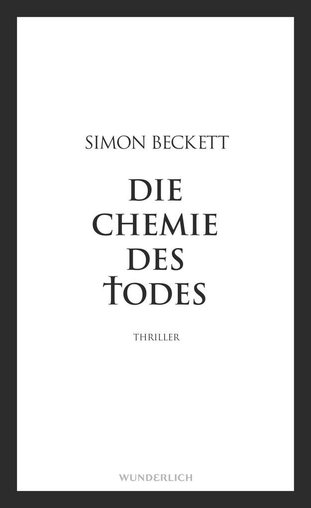 Die Chemie des Todes als Buch