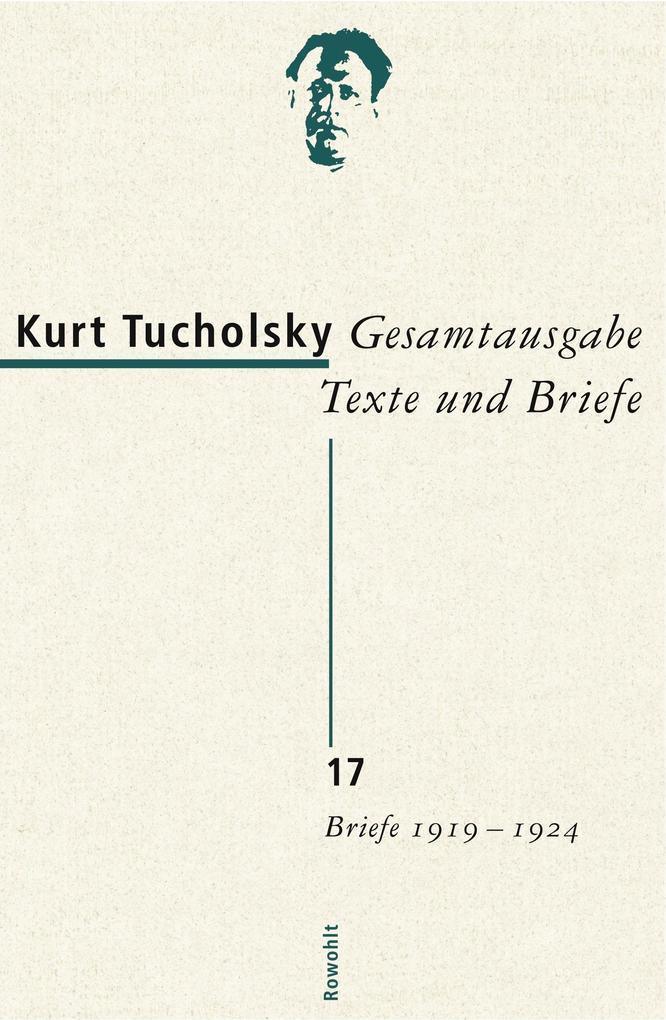 Gesamtausgabe 17. Briefe 1919-1924 als Buch