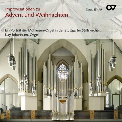 Orgelimprovisationen Zu Advent Und Weihnachten als CD