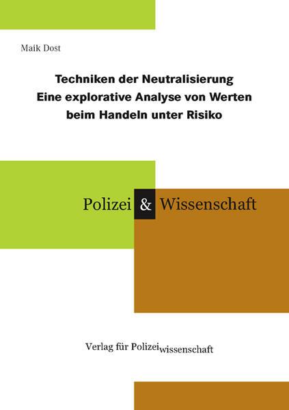 Techniken der Neutralisierung als Buch