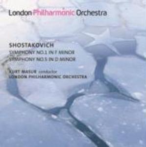 Sinfonie 1 and 5 als CD