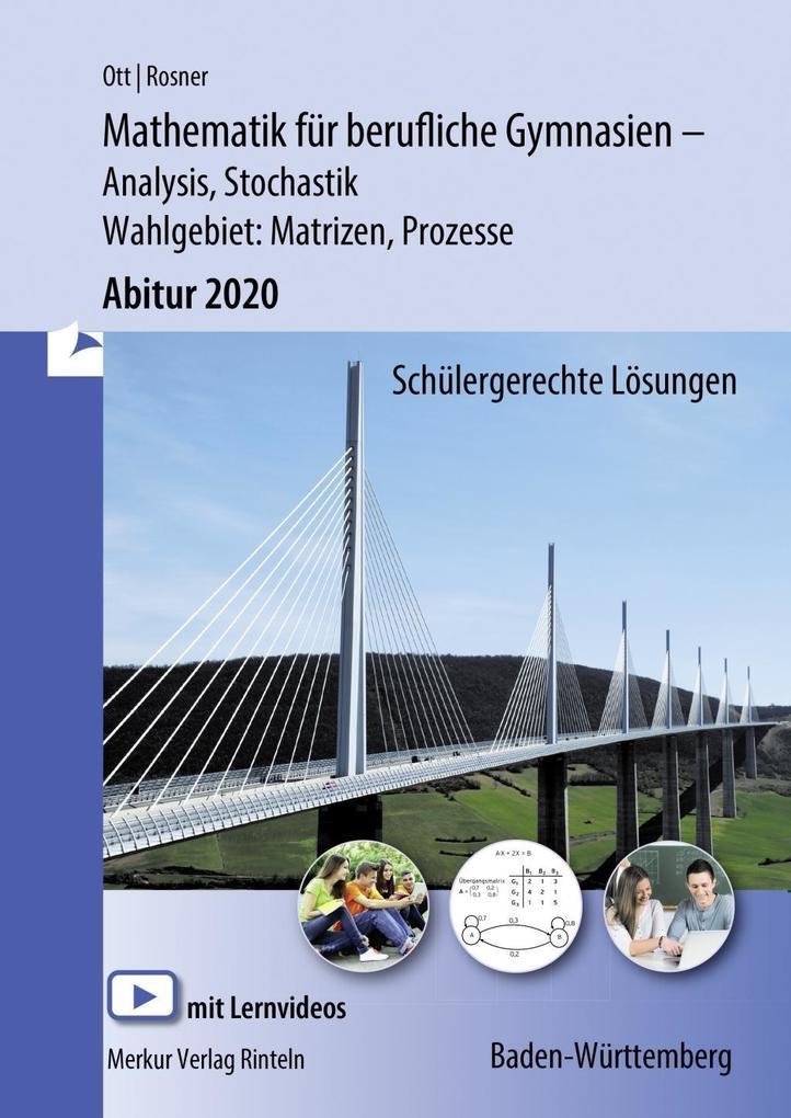 Mathematik für berufliche Gymnasien. Abitur 2019. Baden-Württemberg als Buch