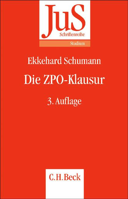 Die ZPO-Klausur als Buch