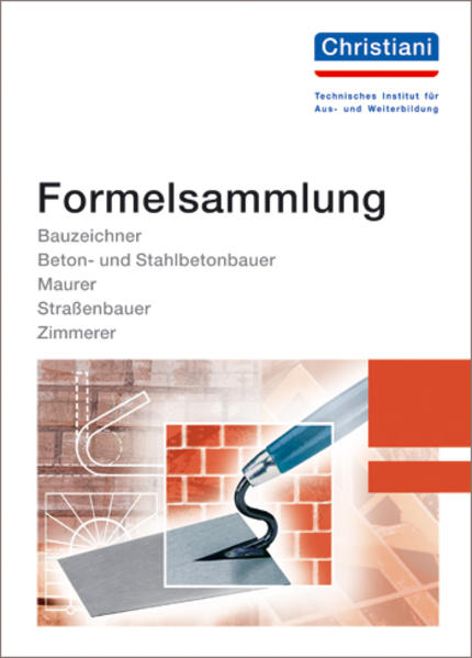 Formelsammlung Bau als Buch