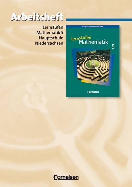 Lernstufen Mathematik 5. Arbeitsheft. Hauptschule Niedersachsen als Buch