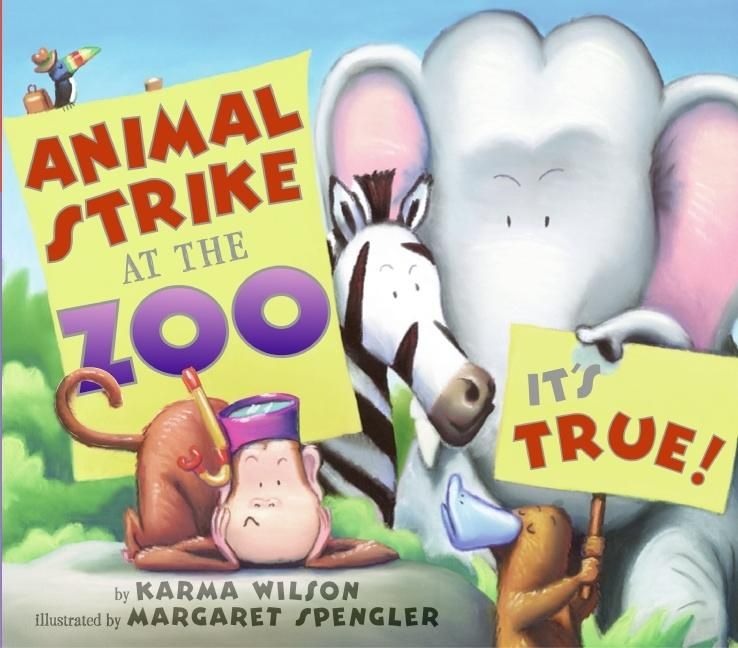 Animal Strike at the Zoo. It's True! als Buch