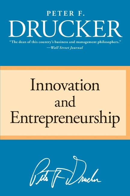 Innovation and Entrepreneurship als Taschenbuch