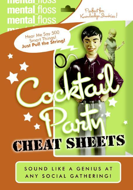 Mental Floss: Cocktail Party Cheat Sheets als Taschenbuch