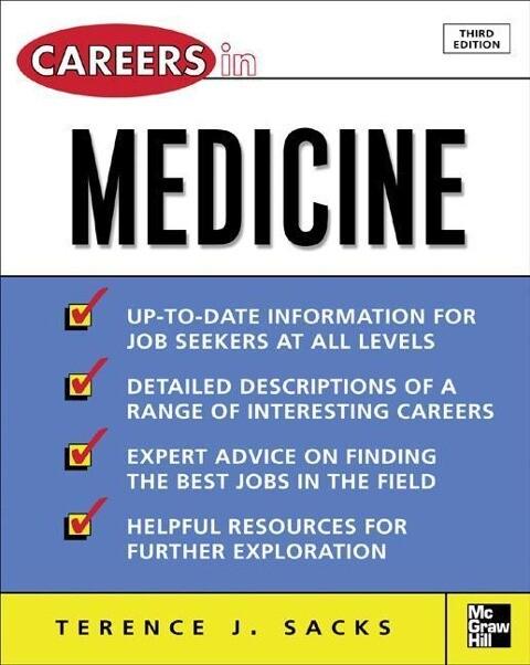 Careers in Medicine, 3rd Ed. als Taschenbuch