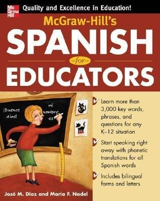 McGraw-Hill's Spanish for Educators (Book Only) als Taschenbuch